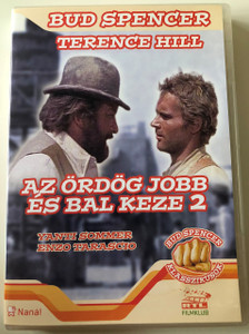 Az ördög jobb és bal keze 2. DVD ...continuavano a chiamarlo Trinità / They Call Me Trinity 2 / Audio and Subtitle: Hungarian / Directed by Enzo Barboni / Starring : Terence Hill, Bud Spencer, Yanti Sommer, Enzo Tarascio, Harry Carey Jr. / Bud Spencer Classics (5999545581196)
