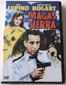 Magas Sierra DVD 1941 High Sierra / Directed by Raoul Walsh / Starring: Ida Lupino, Humphrey Bogart / Hungarian release (5999048905390)