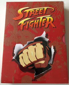 Street Fighter DVD Box 2009 / Street Fighter II: The Animated Movie / Street Fighter Alpha / Street Fighter Alpha 2 / 3 disc set (5999882942698) biml
