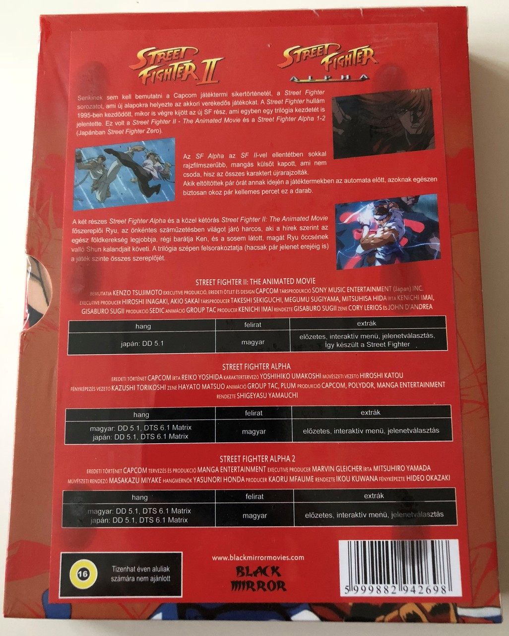 Street Fighter Dvd Box 2009 Street Fighter Ii The Animated