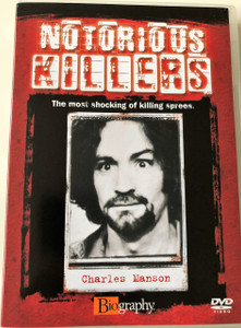 Notorious Killers - Charles Manson DVD / The most shocking of killing sprees (5023093056971)