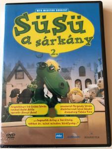 Süsü a Sárkány 2. DVD 1972 Susu the Dragon 2 / Directed by Szabó Attila / Starring: Bodrogi Gyula, Sztankay István / Scenario: Csukás István / MTV Mesetár Sorozat (5999552560115)