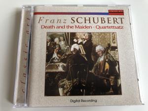 Franz Schubert - Death and the Maiden - Quartettsatz / Digital Recording / Classic Art / Audio CD 1997