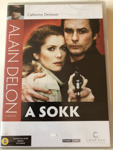 A Sokk DVD 1982 Le Choc (The Shock) / Directed by Robin Davis / Starring: Alain Delon, Catherine Denevue (5999544702776)