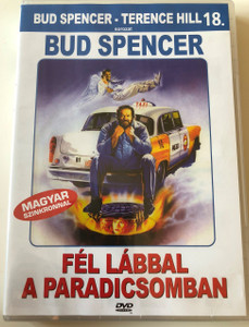 Fél lábbal a paradicsomban DVD 1990 Un Piede in paradiso (Speaking of the devil) / Directed by E.B. Clucher / Starring Bud Spencer, Thierry Lhermitte, Carol Alt / Bud Spencer-Terence Hill Sorozat 18. (5999553600988)