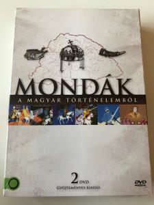 Mondák a magyar történelemből DVD 2011 Legends from Hungarian history / Directed by Jankovics Marcell (5999884941095)
