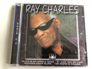 Ray Charles – C.C. Rider / Blues is my middle name, If I give you my love, Rocking chair blues, The snow is falling / Audio CD 1995 / American singer, songwriter, musician, and composer / Ray Charles Robinson (8712273050454)