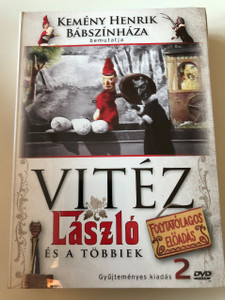 Vitéz László és a többiek DVD 2016 László the Knight & his friends / Puppet show by Kemény Henrik / Kemény Henrik bábszínháza / 2 disc set (5999884941088)