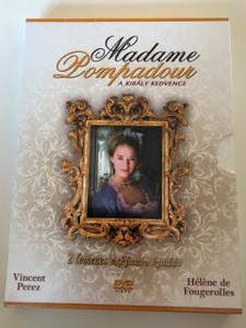 Madamme Pompadour - A Király Kedvence DVD 2008 Jeanne Poisson, marquise de Pompadour / Directed by Robin Davis / Starring: Vincent Perez, Héléne de Fougerolles, Charlotte de Turckheim (5999548220924)