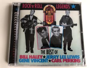 Rock 'N' Roll Legends: The Best Of Bill Haley, Jerry Lee Lewis, Gene Vincent, Carl Perkins - Bill Haley, Jerry Lee Lewis, Gene Vincent, Carl Perkins / Audio CD 1997 (5014293613828)