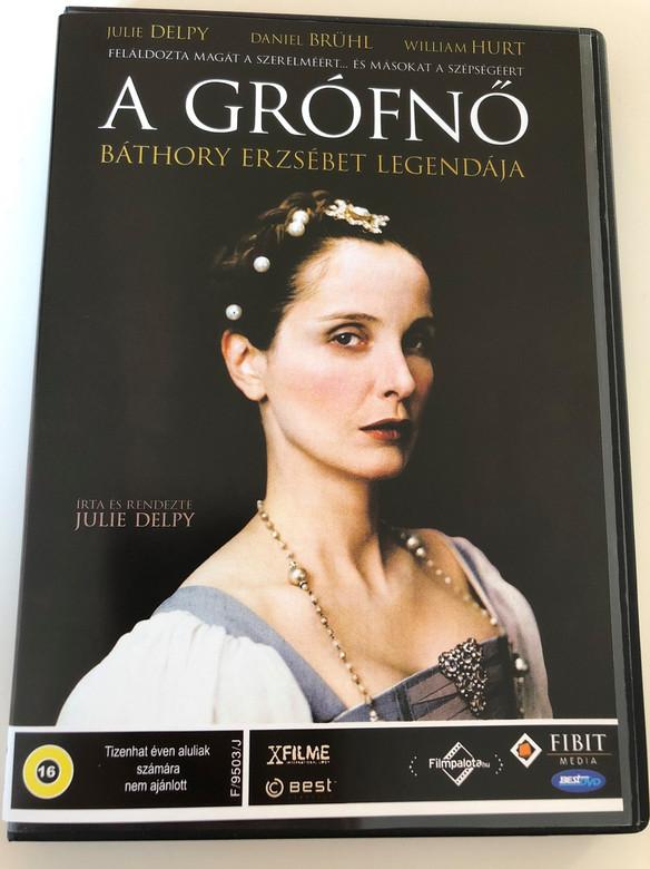 A Grófnő - Báthory Erzsébet Legendája DVD The Countess / Directed by Julie Delpy / Starring: Julie Delpy, Daniel Brühl, William Hurt (5996492103235)