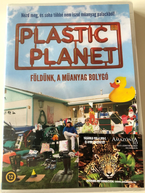 Plastic planet DVD 2014 Földünk, a műanyag bolygó / Directed by Werner Boote / Documentary about the dangers of plastic (5999546336559)