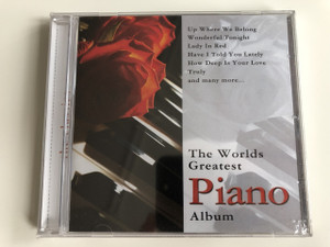 THE WORLDS GREATEST PIANO ALBUM / AUDIO CD 2005 EXCLUSIVE EDITION / UP WHERE WE BELONG, WONDERFUL TONIGHT, LADY IN RED, HAVE I TOLD YOU LATELY, HOW DEEP IS YOUR LOVE, TRULY AND MANY MORE... / PERFORMED BY MICHAEL EDWARDS & THE BELLEVUE ORCHESTRA (5706238326886)