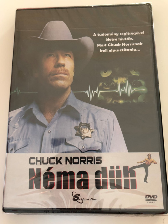 Néma Düh DVD 1982 Silent rage / Directed by Michael Miller / Starring: Chuck Norris, Toni Kalem, Brian Libby, Ron Silver (5999884099192)
