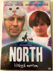 Világgá Mentem DVD 1994 North / Directed by Rob Reiner / Starring: Elijah wood, Bruce Willis, Dan Aykroyd, Jon Lovitz (5996473013775)