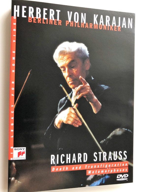 Richard Strauss / Death and Transfiguration, Metamorphoses DVD 2004 / Herbert Von Karajan / Berliner Philharmoniker / 1984 Concert All Souls' day, Berlin (5099704598499)