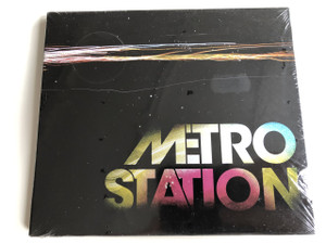Metro Station / AUDIO CD 2007 / American pop rock band: Mason Musso, Trace Cyrus, Spencer Steffan
