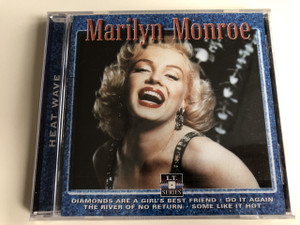 Marilyn Monroe – Heat Wave / Audio CD 2000 / Famous American actress, model, and singer / Diamonds are a girl's best friend, Do it again, The river of no return, Some like it hot (8712273050096)
