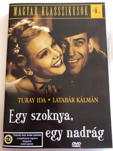 Egy Szoknya, egy nadrág DVD One skirt, one trousers / Directed by Hamza D. Ákos / Starring: Turay Ida, Latabár Kálmán / Hungarian Classics 4 (5999881068894)
