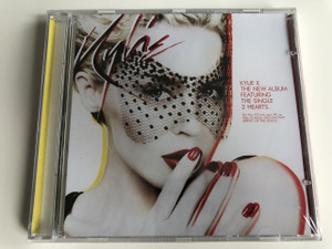KYLIE MINOGUE - KYLIE X The new album / AUDIO CD 2007 / Featuring: The Single 2 Hearts / Put this CD into your PC or Mac to access exclusive track RIPPIN' UP THE DISCO (5099951451103)