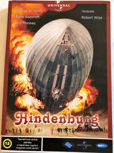 Hindenburg DVD 1975 The Hindenburg / Directed by Robert Wise / Starring: George C. Scott, Anne Bancroft, Roy Thinnes (5998133197030)