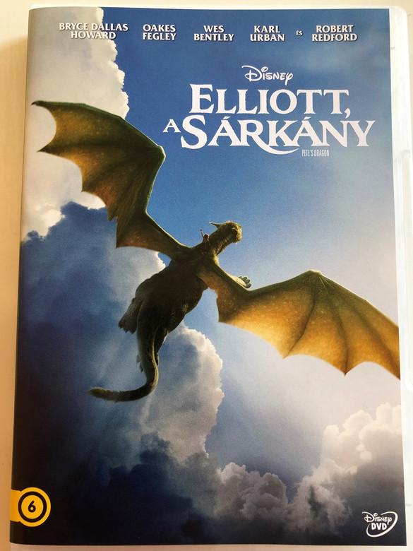 Elliott, a Sárkány DVD Pete's Dragon / Directed by David Lowery / Starring: Bryce D. Howard, Oakes Fegley, Wes Bentley, Karl Urban, Robert Redford / Disney (5996514025972)