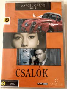 Csalók DVD 1958 Les Tricheurs / Directed by Marcel Carné / Starring: Jean-Paul Belmondo, Jacques Charrier, Laurent Terzieff, Andréa Parisy (5999554700281)