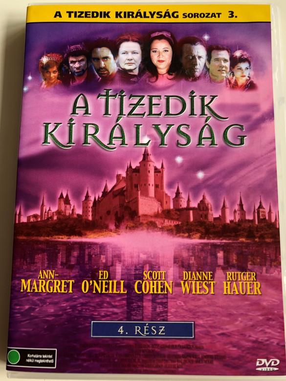 A tizedik királyság 4. DVD 2000 The 10th Kingdom part 4 / Directed by David Carson, Herbert Wise / Starring: Ann-Margret, Ed O'neill, Scott Cohen, Dianne Wiest, Rutger Hauer (5999553601701)