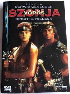 Vörös Szonya DVD Red Sonja / Directed by Richard Fleischer / Starring: Arnold Schwarzenegger, Brigitte Nielsen (5996051090198)