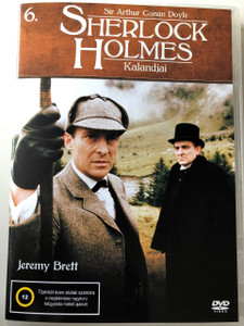 Sherlock Holmes Kalandjai 6. DVD 2008 The Adventures of Sherlock Holmes 6. / Directed by Alan Grint, Paul Annett, John Bruce, David Carson / Starring: Jeremy Brett / Episodes 11-13 (5999545585538)