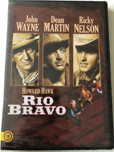Rio Bravo DVD 1959 / Directed By Howard Hawks / Starring: John Wayne, Dean Martin, Ricky Nelson / Classic Western (5996514005943)