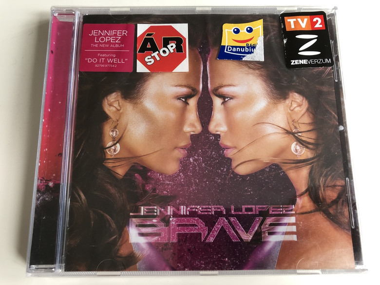 Jenifer Lopez – Brave / Featuring: Do It Well / AUDIO CD 2007 / American singer, actress, dancer and producer (827969775424)