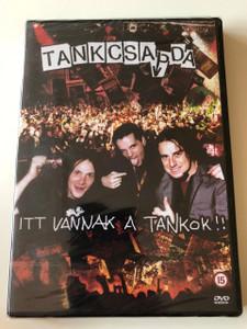 Tankcsapda - Itt vannak a tankok DVD 2003 / (The tanks are here) / Band tour documentary / Turnéfilm (5999545514262)