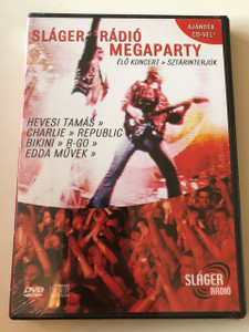 Sláger Rádió Megaparty DVD + CD 2005 / Hungarian Popular Music Anthology / Live Concert