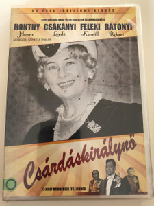 Csárdás Királynő DVD 1963 Queen of Czardas / Directed by Szinetár Miklós / Starring: Honthy Hanna, Csákányi László, Németh Marika, Rátonyi Róbert, Feleki Kamill / Hungarian Classic (5999884941132)