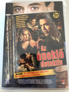 The Singing Detective DVD 2003 Az éneklő Detektív / Directed by Keith Gordon / Starring: Robert Downey Jr., Robin Wright Penn, Jeremy Northam, Katie Holmes, Mel Gibson (5999544150805)