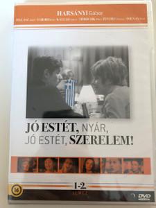 Jó estét, Nyár, Jó estét, Szerelem! DVD Good evening Summer, Good Evening Love! / Directed by Szőnyi G. Sándor / Starring: Harsányi Gábor, Halász Judit, Pécsi Sándor, Törőcsik Mari (5999884941453)