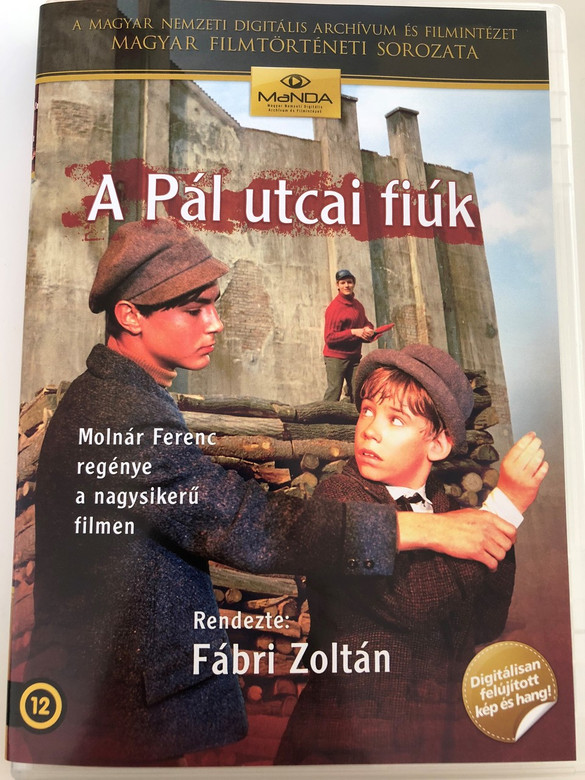 A Pál utcai Fiúk DVD 1969 The Paul Street Boys / Directed by Fábri Zoltán / Starring: Anthony Kemp, William Burleigh, Robert Efford, Törőcsik Mari, Pécsi Sándor (5999884681243)