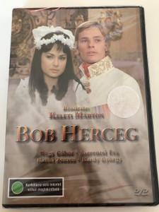 Bob Herceg DVD 1972 Prince Bob / Operett / Directed by Keleti Márton / Starring: Nagy Gábor, Szerencsi Éva, Bánki Zsuzsa, Bárdi György, Tordai Teri (5996357320098)