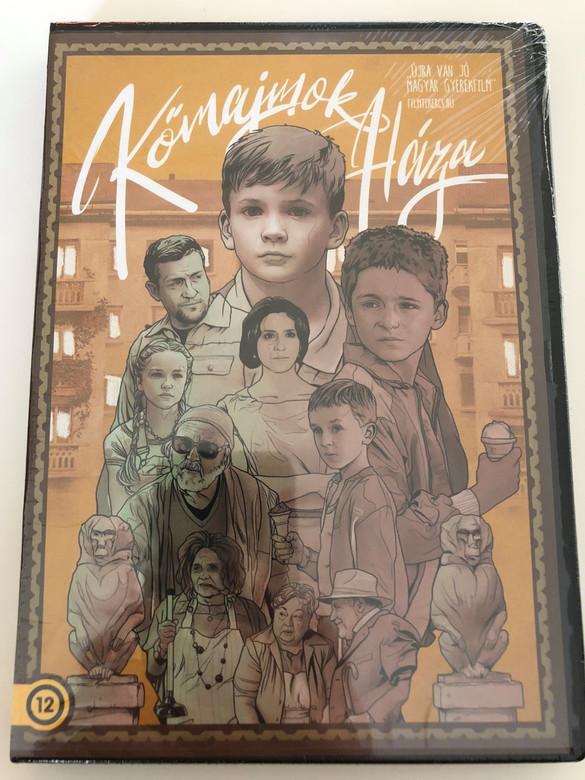 Kőmajmok háza DVD 2014 House of the Stone Monkeys / Directed by Fonyó Gergely / Starring: Járja Erik, Hajdú Virág, Gubás Gabi, Csányi Sándor (5999553590364)