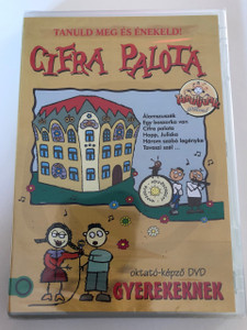 Tanuld meg és énekeld - Cifra Palota DVD 2016 Gyereksarok / Hungarian / Children's Corner DVD To learn and sing / Disc 3 of 5