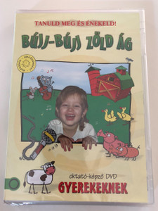 Tanuld meg és énekeld - Bújj-Búj Zöld Ág DVD 2016 Gyereksarok / Hungarian / Children's Corner DVD To learn and sing / Disc 4 of 5 (5999884941422)