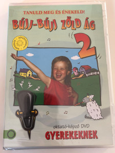 Tanuld meg és énekeld - Bújj-Búj Zöld Ág 2 DVD 2016 Gyereksarok / Hungarian / Children's Corner DVD To learn and sing / Disc 5 of 5 (5999884941439)