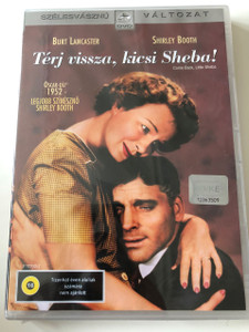 Come back, Little Sheba! DVD 1952 Térj Vissza, kicsi Sheba! / Directed by Daniel Mann / Starring: Burt Lancaster, Shirley Booth / 1952 Oscar Winner / Widescreen edition (5996255716368)
