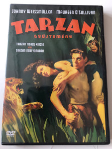 Tarzan Collection - Tarzan's Secret Treasure & Tarzan's New York Adventure DVD 2004 Tarzan Gyűjtemény / Directed by Richard Thorpe, Daniel Mann / Starring: Johnny Weissmüller, Maureen O'Sullivan (5999048904096)