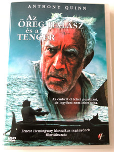 The Old man and the Sea DVD 1990 Az öreg halász és a tenger / Directed by Jud Taylor / Starring: Anthony Quinn, Gary Cole, Patricia Clarkson, Alexis Cruz (5999546331677)