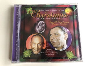 Christmas With The Stars / Santa Claus is coming to town / Volume 1 / Your All Time Favourite Christmas Melodies Includes: Bing Crosby, Frank Sinatra, Louis Armstrong and many more / Audio CD 2000 16 Track (5703976127676)