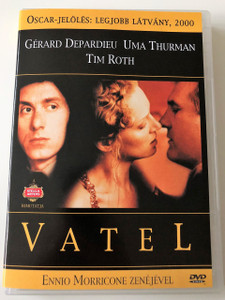 Vatel DVD 2000 / Directed by Roland Joffé / Starring: Gérard Depardieu, Uma Thurman, Tim Roth / Music by Ennio Morricone / Oscar-nominee (2000) (5999881066258)