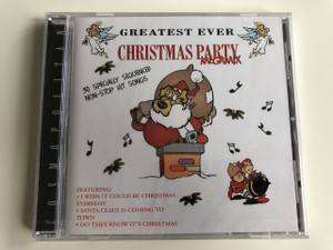 Christmas Party Megamix / Greatest ever / AUDIO CD 1999 / 30 Special Sequenced Non-Stop Hit Songs Featuring: I Wish It Could be Christmas Everyday, Santa Claus is Coming to Town, Do They Know It's Christmas (5703976125276)