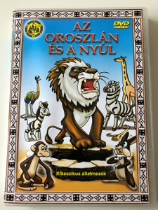 Az oroszlán és a Nyúl DVD 1950 Лев и Заяц (Lion and the Rabbit) / Russian Classic Cartoon / Based on Dagestan's Poet Cadas Gamzat (5999545110730)